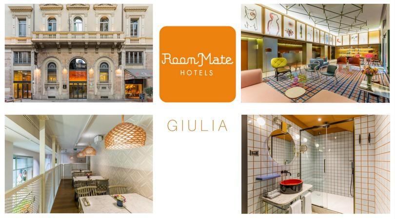 Hoteles que nos inspiran: Room Mate Giulia en Milán
