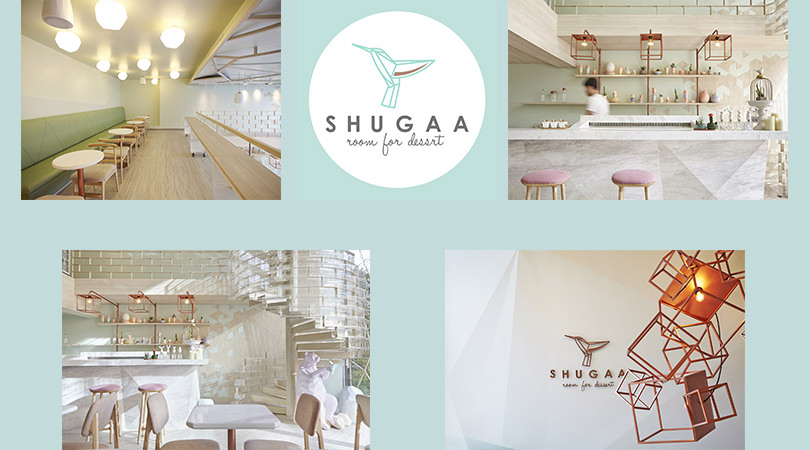 Diseños de restaurantes: Shugaa, room for dessert