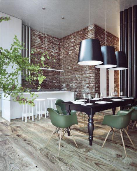 Muebles con caracter industrial