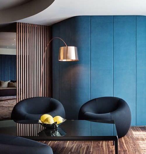Mobiliario redondo en decoración 2019