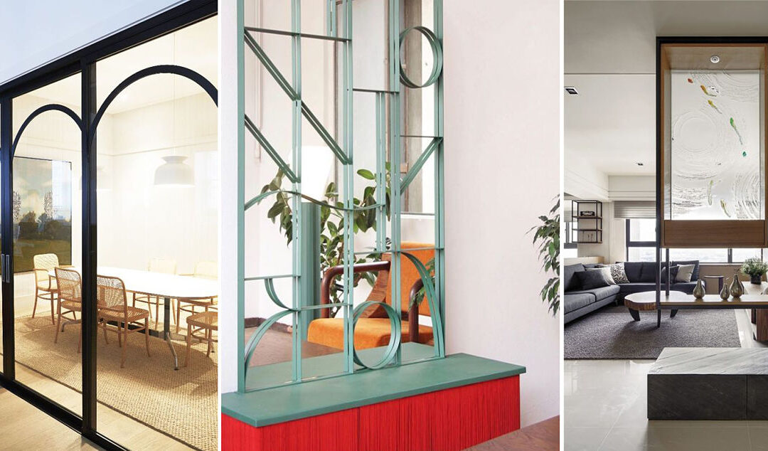Separa para unir espacios - Interiorismo y arquitectura