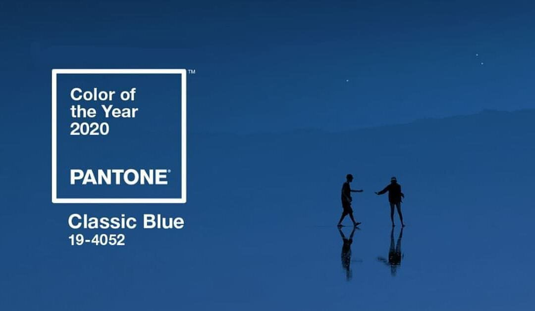 Color of the year 2020 : Classic Blue