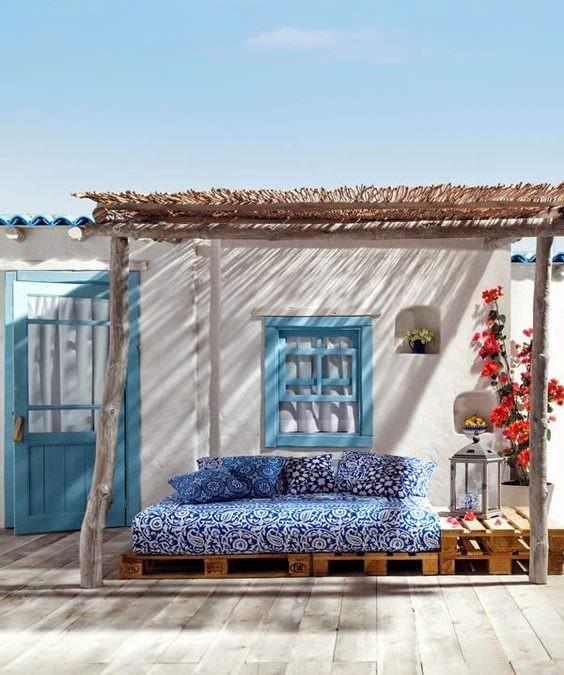 Casa estilo mediterráneo