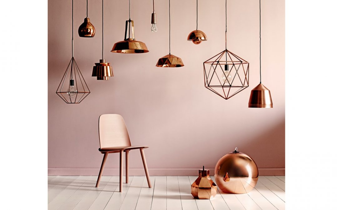 Tendencias en decoración: el cobre