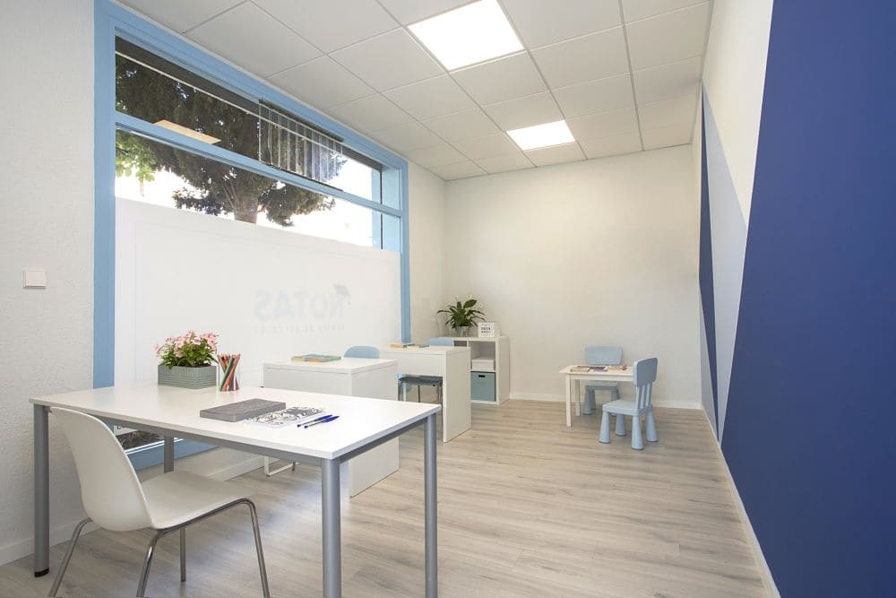 Interiorismo de un centro de estudios en Valencia