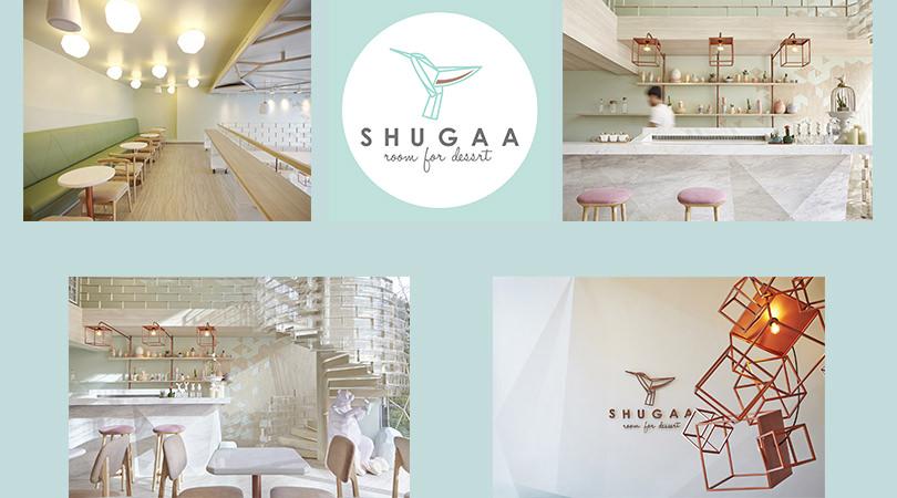 Diseños de restaurantes: Shugaa, room for dessert