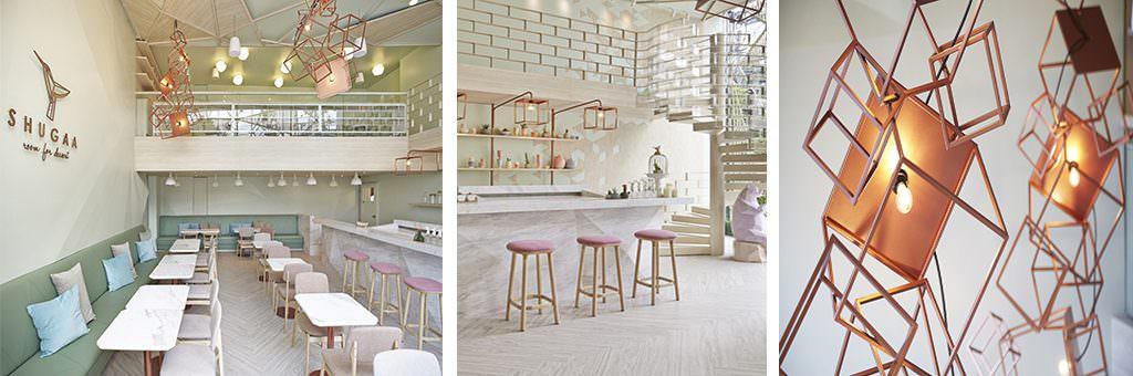Shugaa Room Primera planta: restaurantes inspiradores - Estudio de interiorismo y arquitectura Valencia