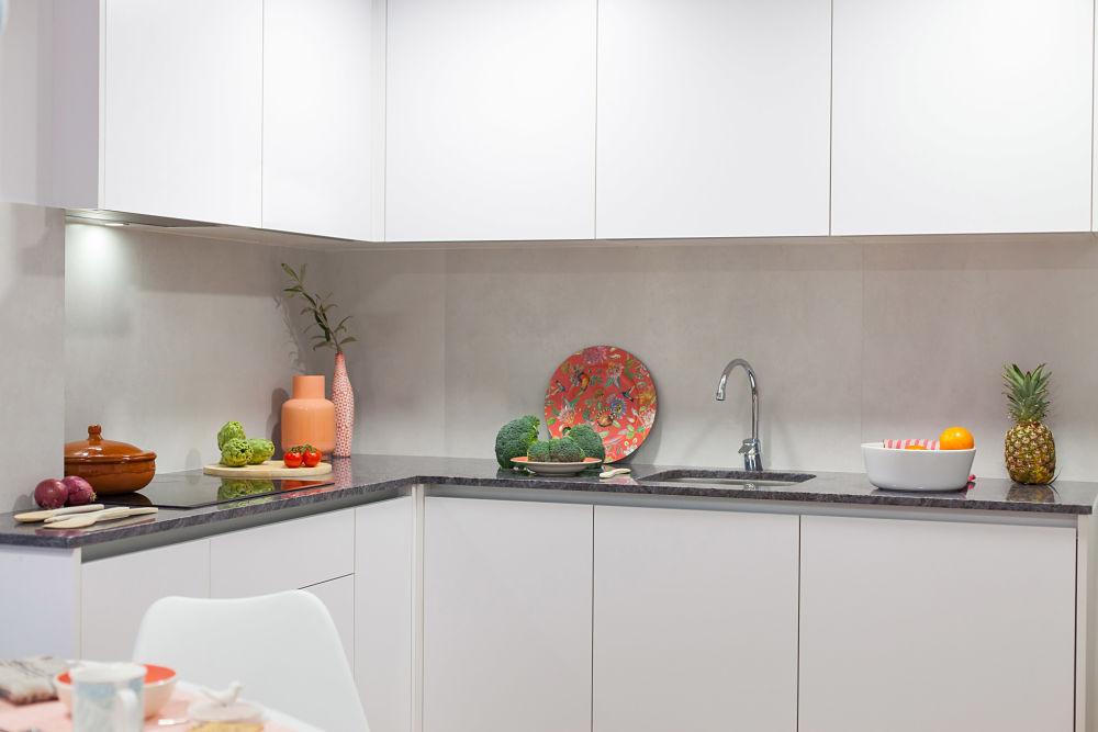 Detalles cocina en vivienda pequeña