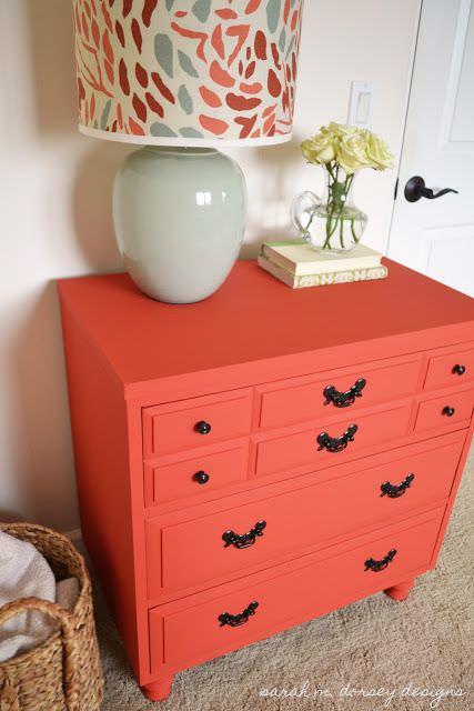 Living Coral en muebles