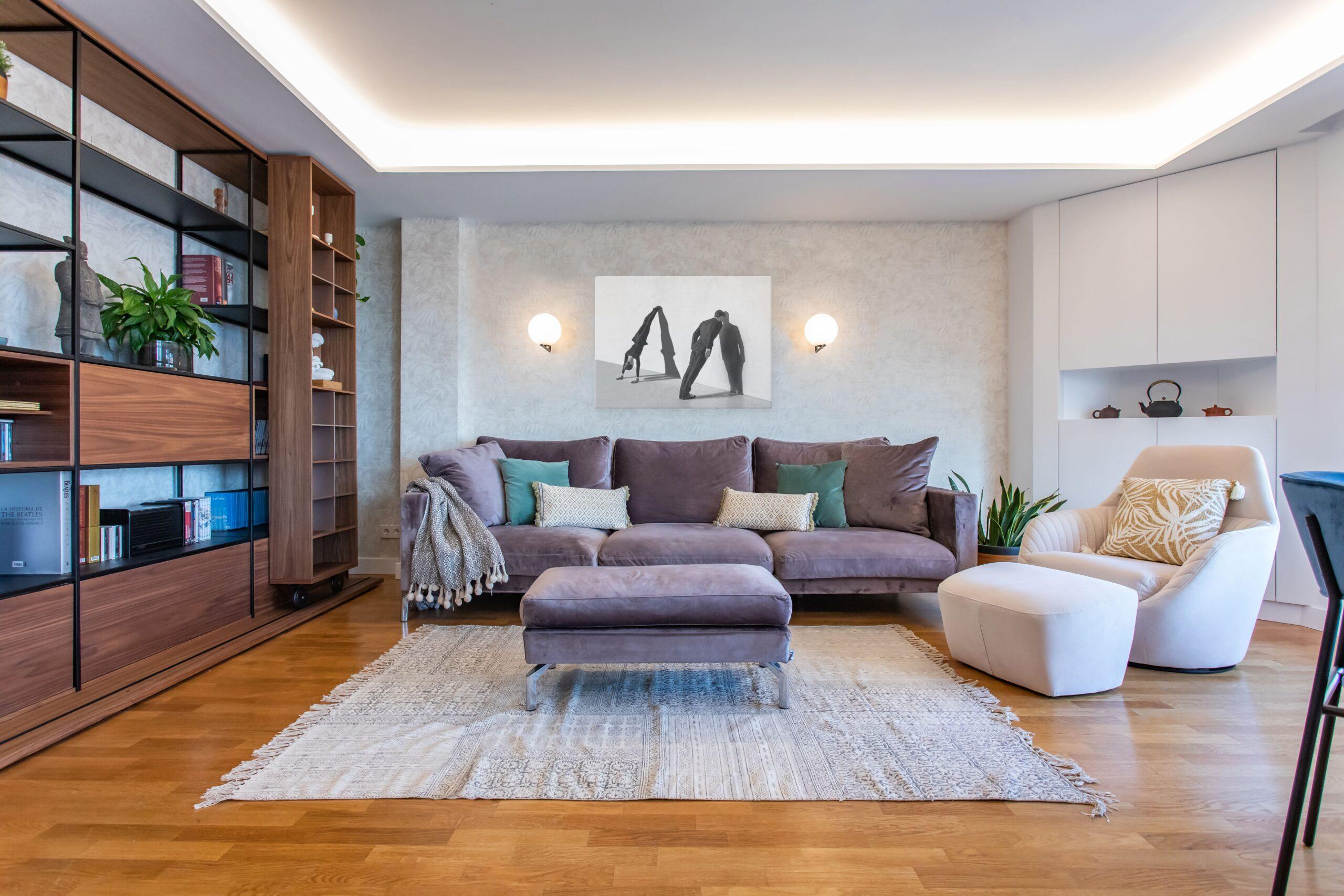 Diseño interiores Valencia - Salón Contemporáneo