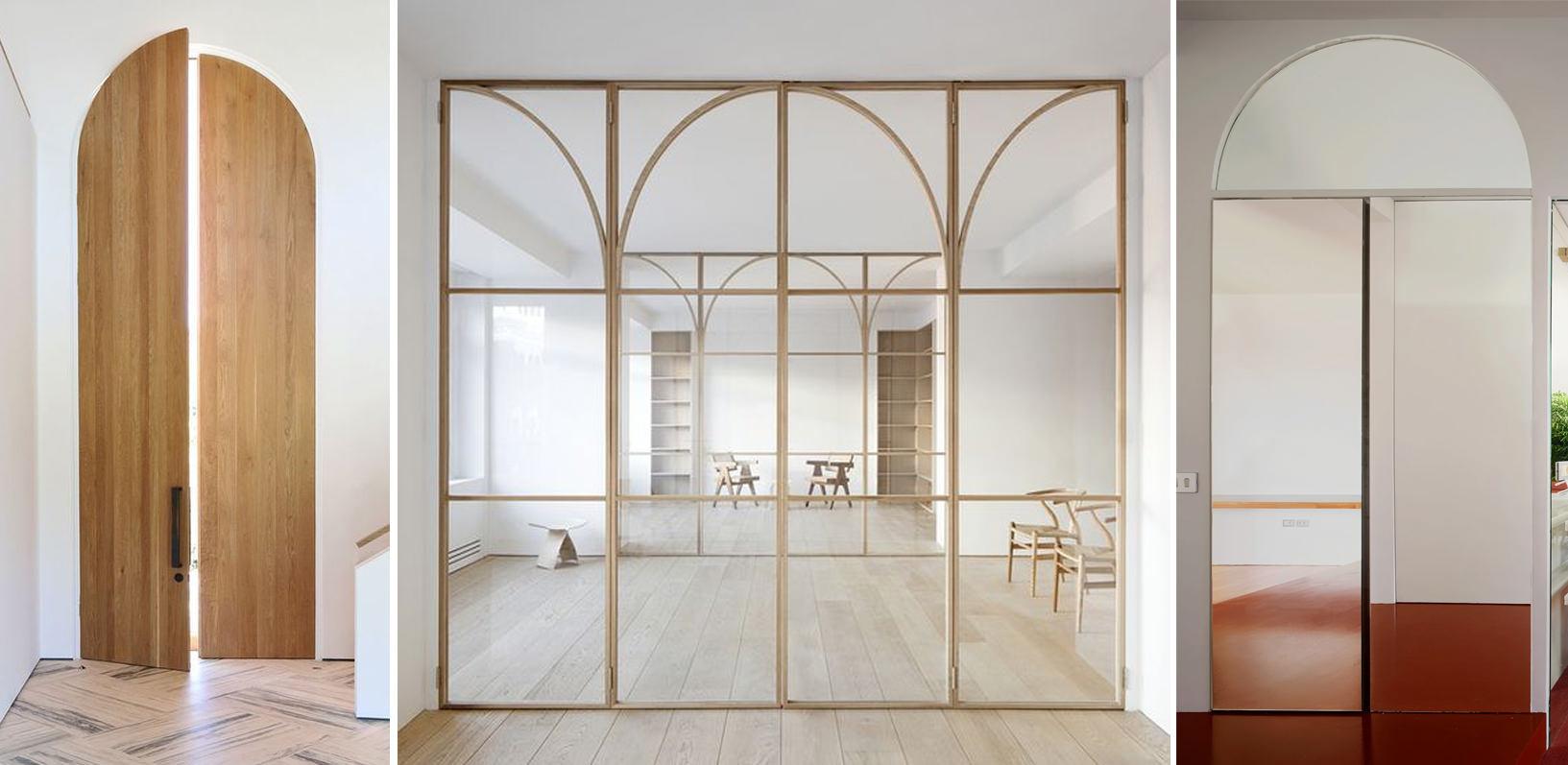 puertas diseños con arcos