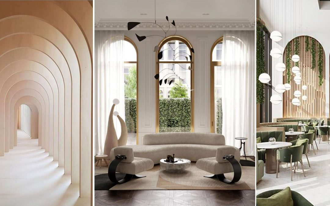Tendencias en interiorismo: diseños con arcos